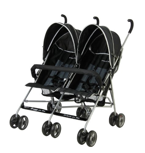 Dream On Me Double Twin Stroller