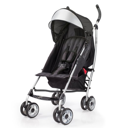 Summer Infant 2015 3D Lite Convenience Stroller Black