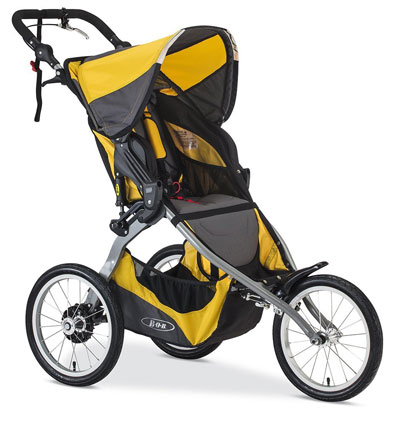 BOB 2016 Ironman Stroller Yellow