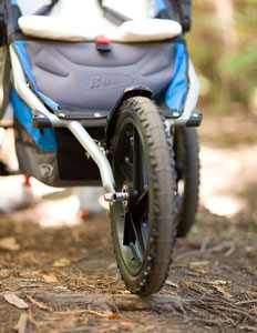bob stroller front tire