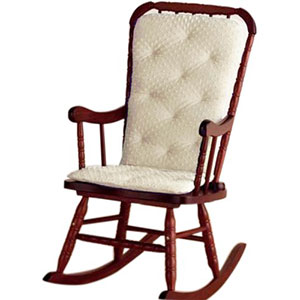 Baby Doll Bedding Heavenly Soft Adult Rocking Chair