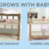 Can baby sleep in pack n play napper?