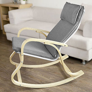 SoBuy FST15-DG, Comfortable Relax Rocking Chair