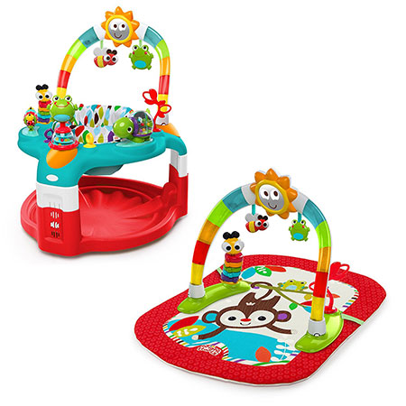 Bright-Starts-2-in-1-Silly-Sunburst-Activity-Gym-and-Saucer