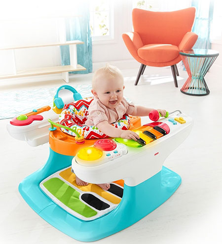 Fisher-Price-4-in-1-Step-'n-Play-Piano