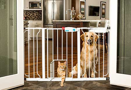 Carlson-44-Inch-Extra-Wide-Walk-Through-Gate-with-Pet-Door