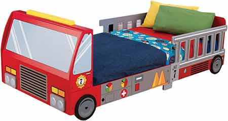 KidKraft-Fire-Truck-Toddler-Bed