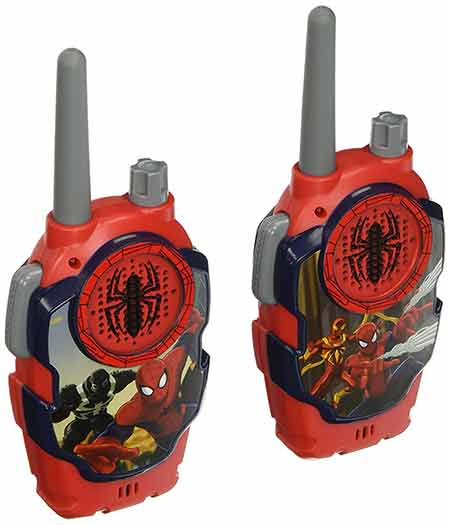 Marvel-Ultimate-Spiderman-Web-Tastic-FRS-Walkie-Talkies