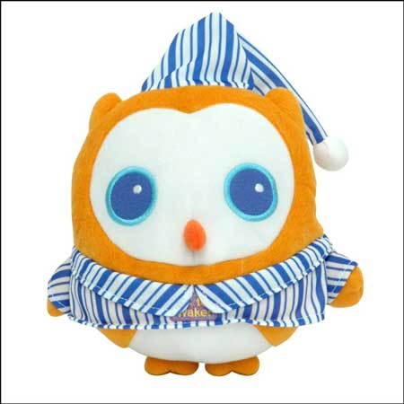 K To Wake! Owl with Night-Light & Music, Nap Timer